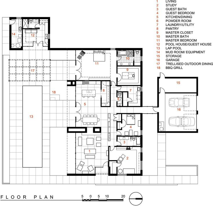 Pool Remodel Phoenix Minimalist Plans 324 Best 02Floor Plans Images On Pinterest  Architecture .