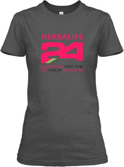 Awesome PINK Herbalife 24 Logo Tees!