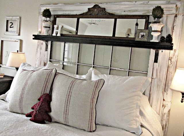 1000 Ideas About Old Window Headboard On Pinterest