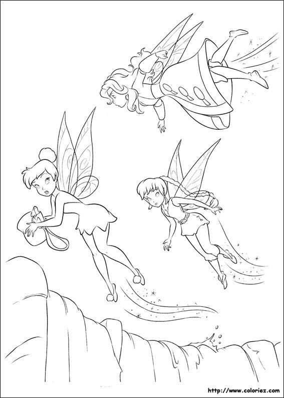 1000+ images about Tinkerbell on Pinterest | Disney, Coloring and ...