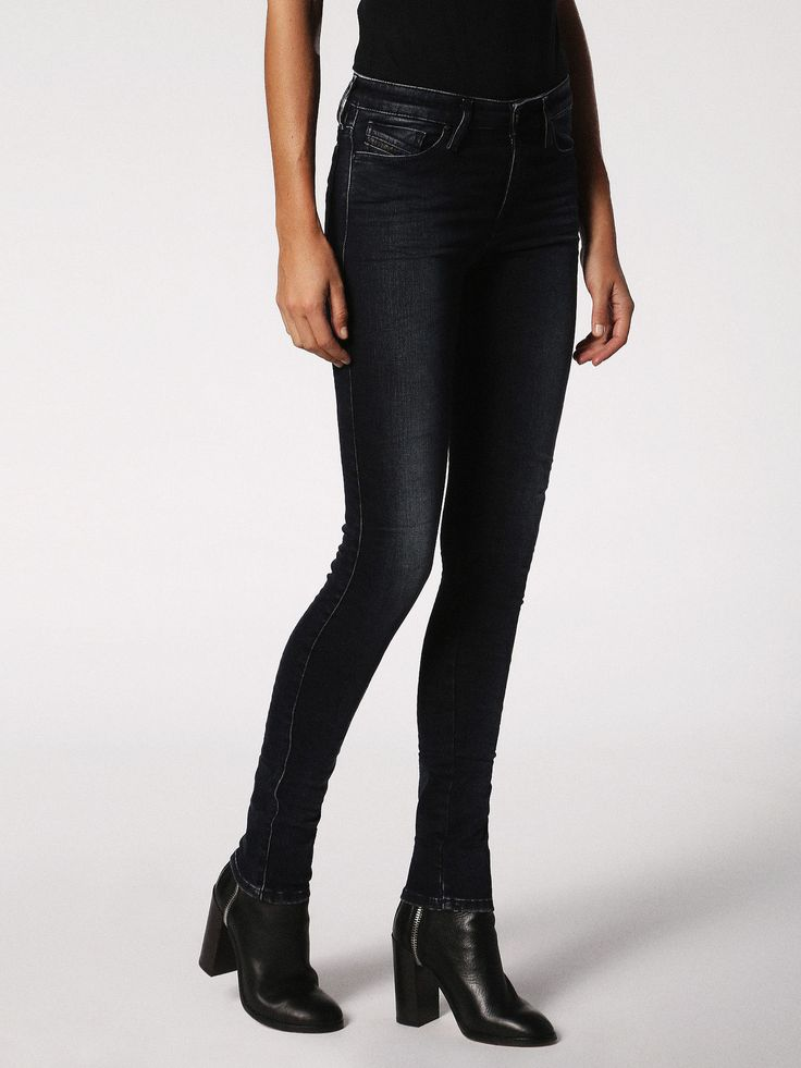 SKINZEE 084KC Super skinny Denim Woman | Diesel Online Store