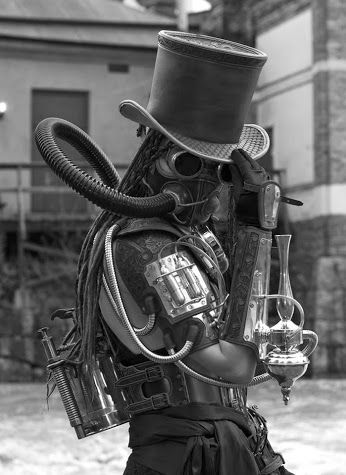 Gothic Art Steam Punk - go vape with the pleasure of a Black Note.