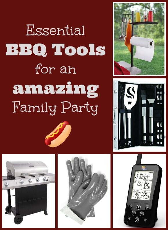 Your Must-Have BBQ Tools For Great Family Parties