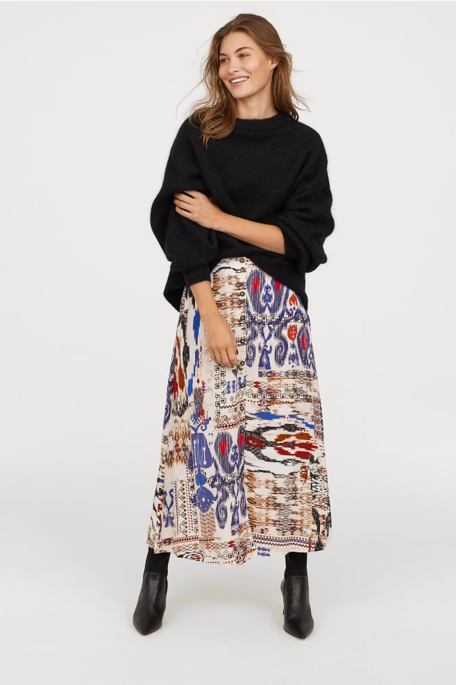fccae6a11b Midirok | Wish list | Calf length skirts, Skirts, White skirts