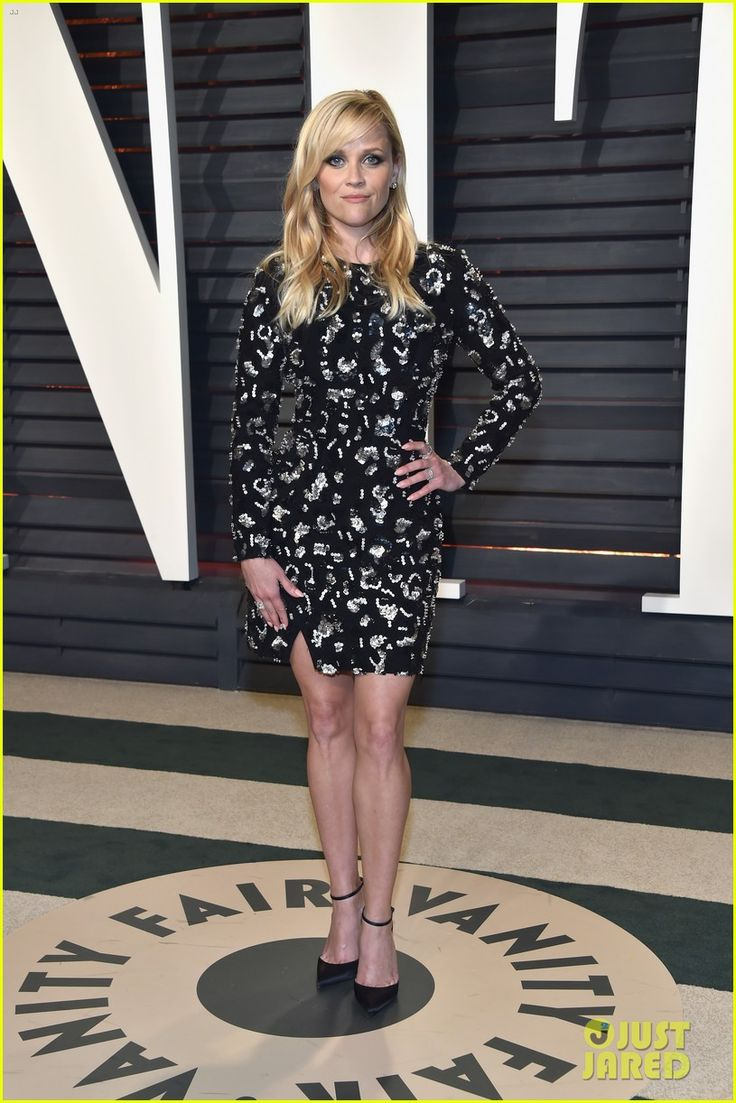 Reese Witherspoon & Husband Jim Toth Make it Date Night at Vanity Fair Oscars Party 2017!