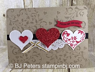 First Sight, Groovy Love, Stampin' Up!, BJ Peters, Valentine, Occasions 2016