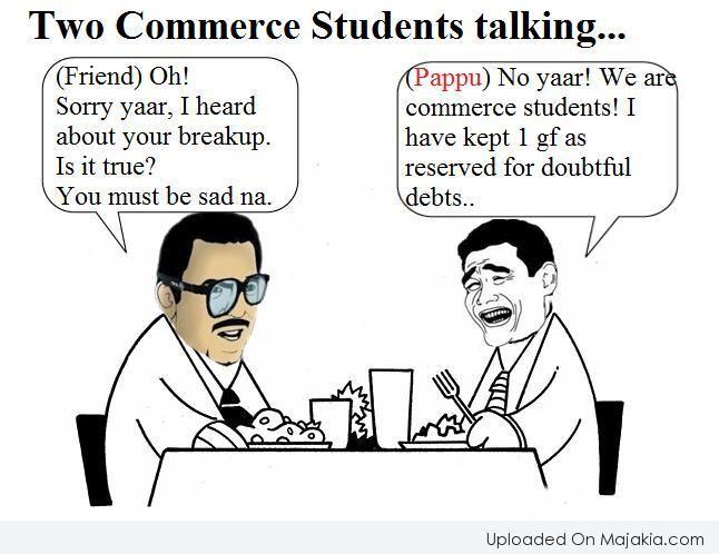 Image Result For Commerce Students Trolls Student Breakup Commerce