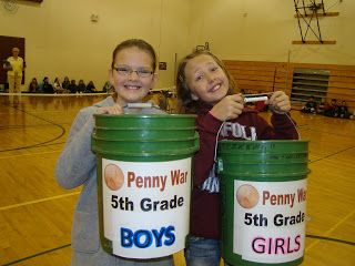 Penny Wars to raise money for a community service project