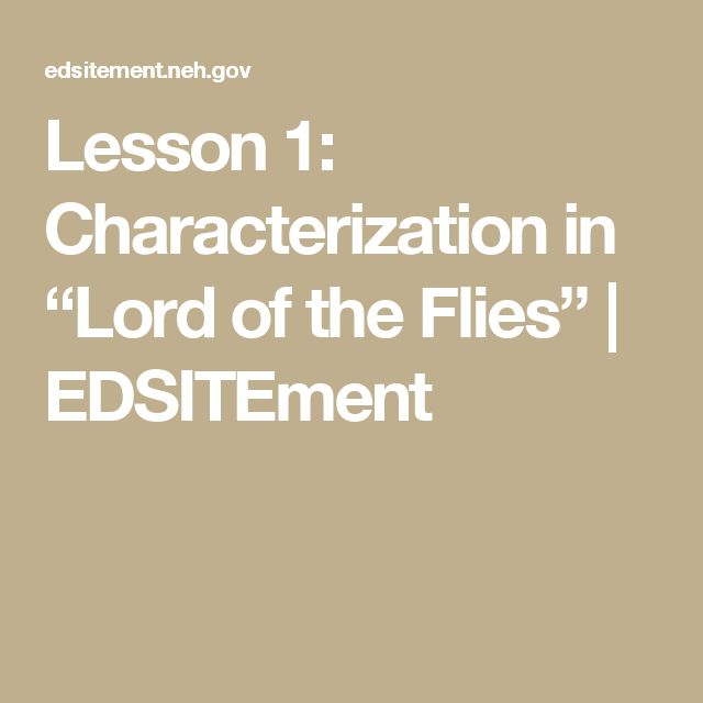 describing the major characters in the story of the lord of the flies Get an answer for 'describe the major characters in lord of the flies: ralph, piggy, and jack' and find homework help for other lord of the flies questions at enotes  in lord of the flies.