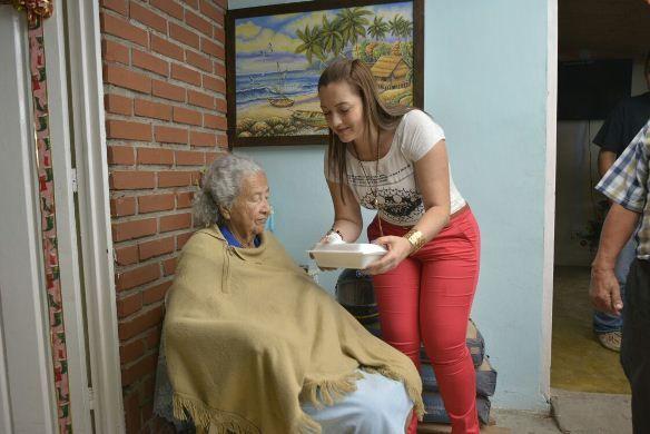 Centros de Bienestar del Adulto Mayor celebraron la Navidad