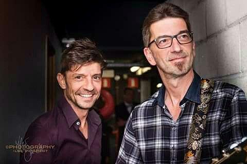 Koen en Kris Wauters van Clouseau - singer & musician