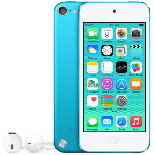 I REALLY WANT THIS!!! It can count as a camera and a mp3 player! Please? Blue iPod touch 5th generation 32GB