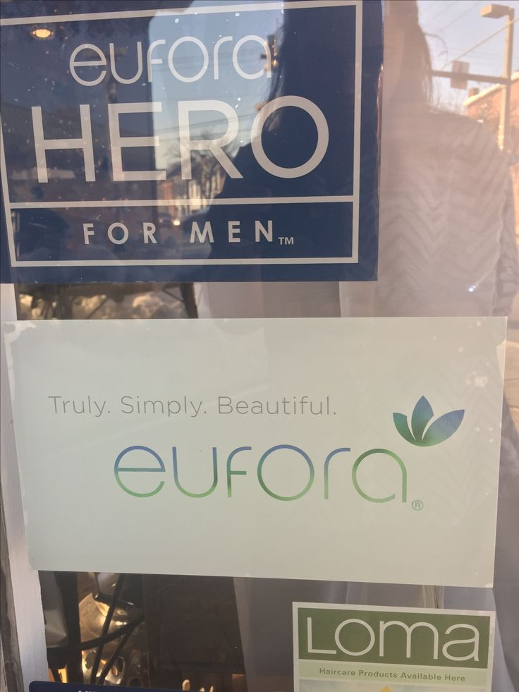 We offer a range of Eufora, Hero, Loma, Davines, Glam Cosmetics, Schwarzkopf, Style Edit, and Brazilian Blowout products!