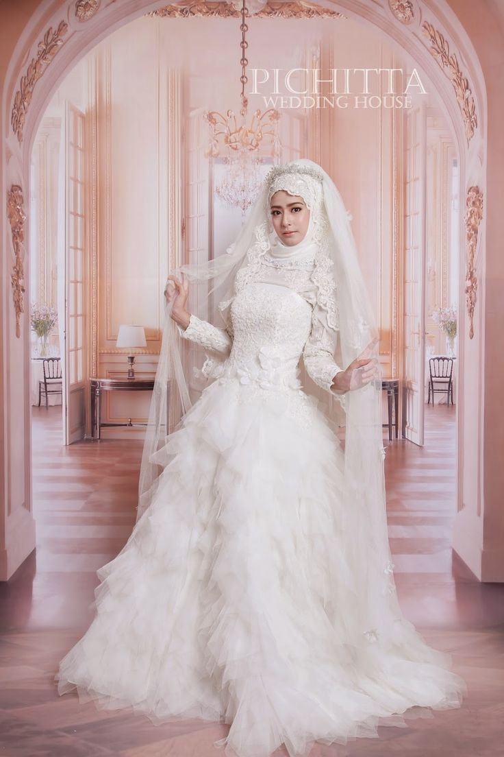 474 best wslim images on pinterest bridal hijab muslim cheap muslim wedding dress buy quality bridal gown directly from china muslim wedding suppliers kaftan vintage exquisite long tiered ruffles white tulle ombrellifo Image collections