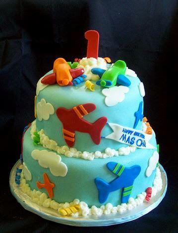 Airplane Birthday Cakes Ethans Birthday Planes