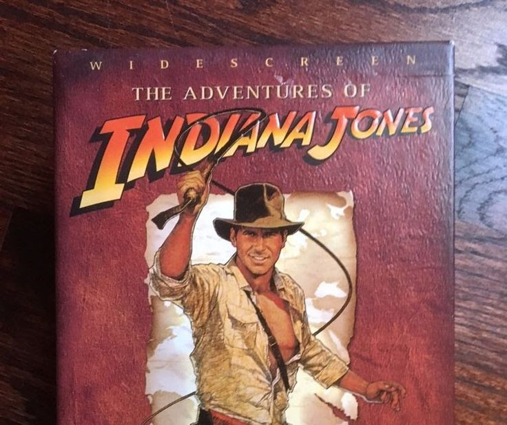 The Adventures of Indiana Jones Complete DVD Movie Collection 4 disc Widescreen