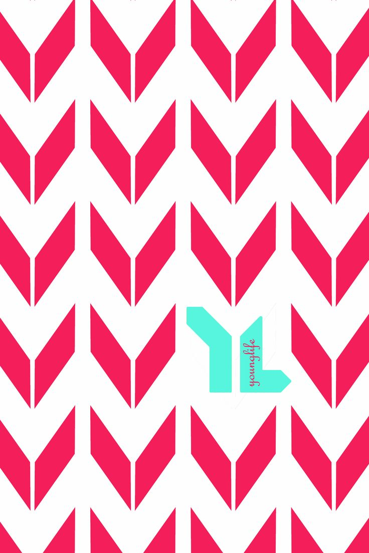 Mint And Coral Chevron Background iPhone 5 Wallpaper - C...