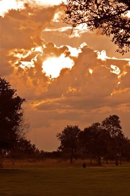 Bushveld sunset, Zebula Golf Estate and Spa, Bela Bela, Limpopo, South Africa, photo by Johannes de Bruyn.