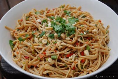Asian Linguini Salad