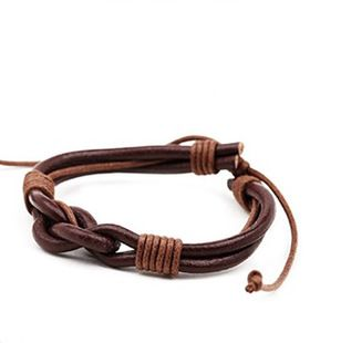 2015 New Arrival Woven Bracelet Men Adjustable Leather Wrap Bracelets Vintage Fashion Bracelets Pulseira Masculina Jewelry NP226 #Affiliate