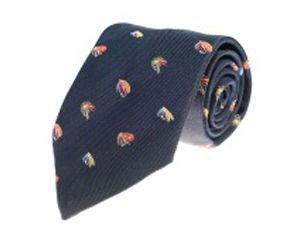Fishing Fly Tie Navy image