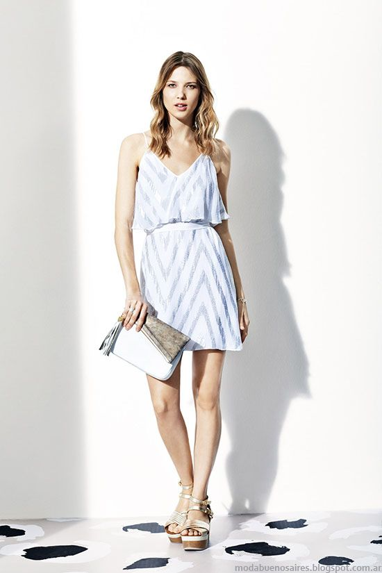 Moda primavera verano 2015 vestidos Vitamina. Moda 2015.