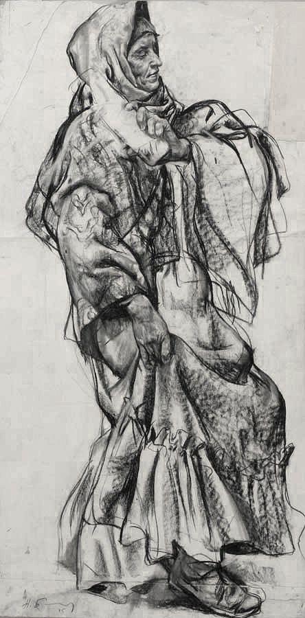 Francis vallejo inspiration nikolai blokhin for Inspirational pencil sketches