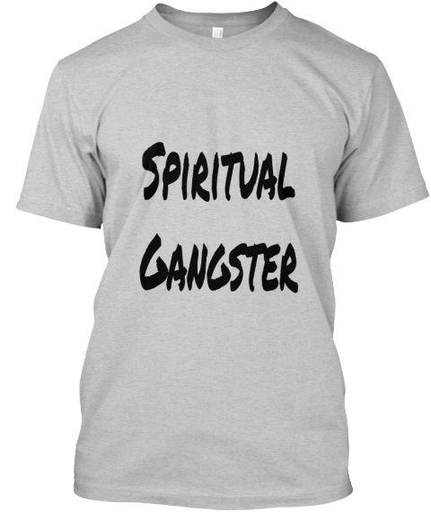 Spiritual Gangster Light Steel T-Shirt Front