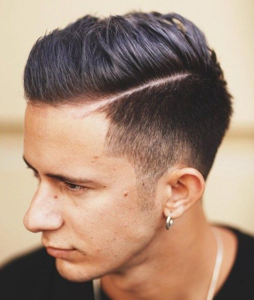 Combover With Tapered Sides
