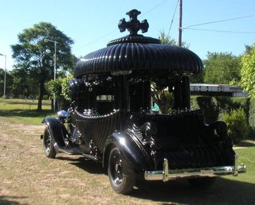 """Hearse < Talk about getting from here to """"there!"""""""