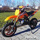 Amazon Angebote Bike Pocketbike 49cc Enduro Pocket Cross Bike Mini Motorrad Minibike Dirtbike (orange)Ihr Quickberater