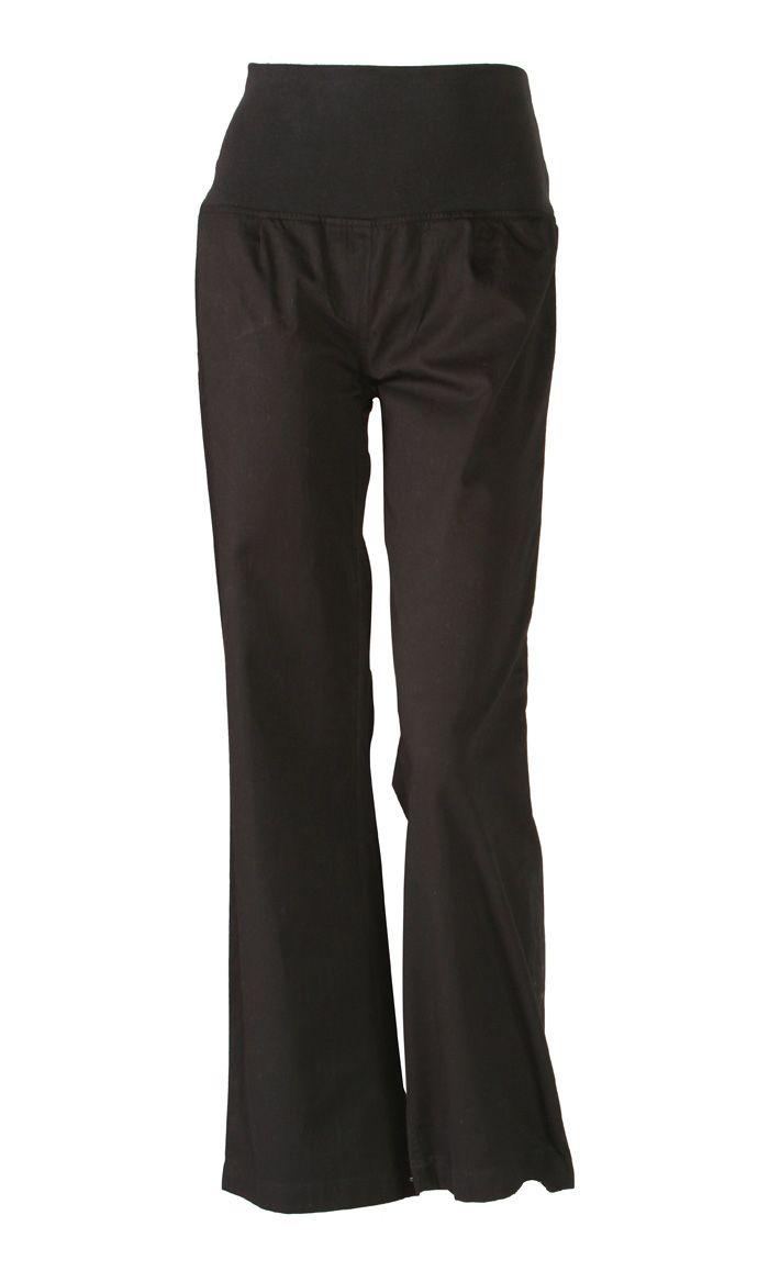 Elegant Cotton Twill Maternity Pants - Price: $29.99 Sku ID : PTWM2