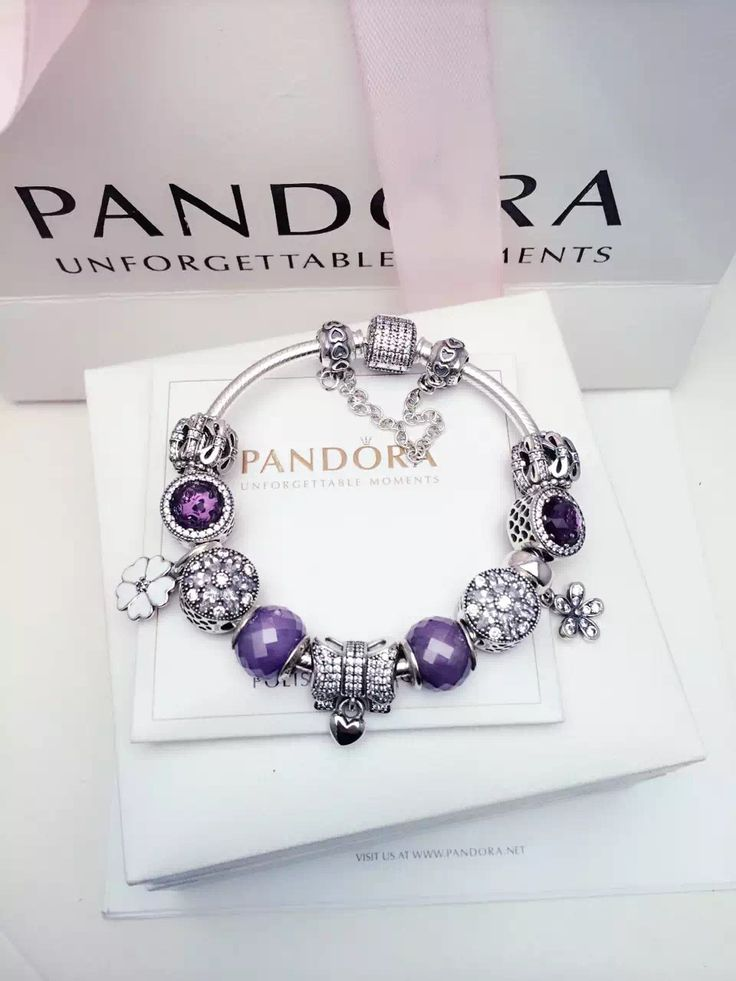 64e900053 ... greece 299 pandora charm bracelet purple white. hot sale 9db65 9c895 ...