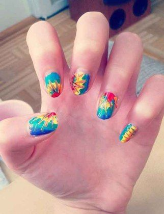 124 best rainbow nails images on pinterest nail polish nail crazy nail designs wild one forever solutioingenieria Choice Image