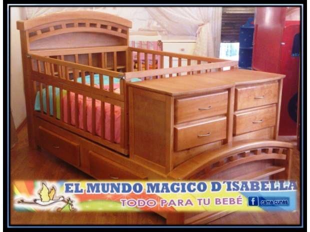 Best 25 cama cunas para bebes ideas on pinterest Prenatal muebles bebe