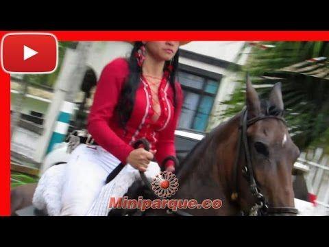Asombroso desfile con lindas chicas horse cabalgata sevilla valle 2016 video HD 113