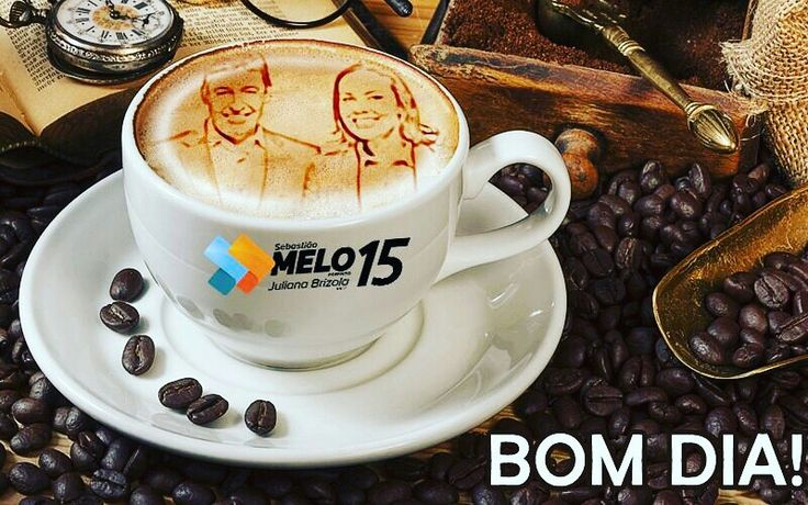 No dia de votar, tome um bom café antes de sair de casa!  #Melo15 #PortoAlegre