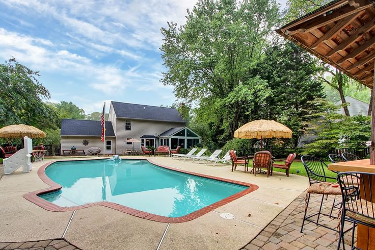 This is the back yard of my listing in the #Broadneck area of #Annapolis #MD - Priced way under market value  http://www.zillow.com/homedetails/529-Broadneck-Rd-Annapolis-MD-21409/36033942_zpid/?view=public