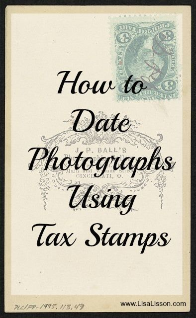 Dating photographs genealogy