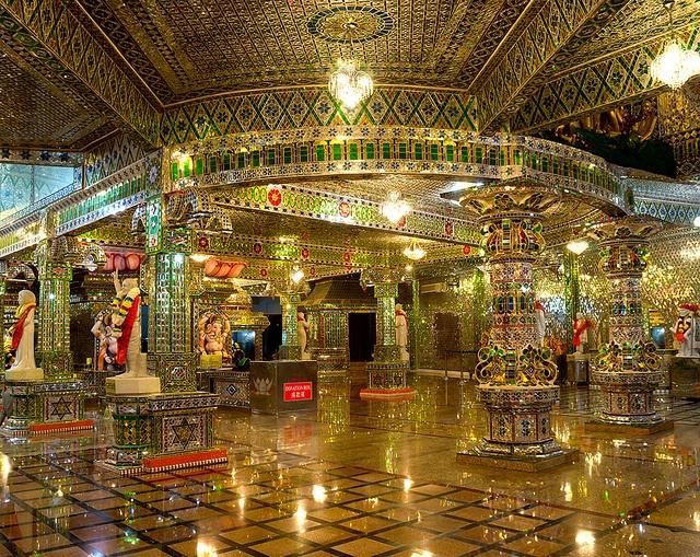 Magnificent Glass Temple In Johor Bahru, Malaysia (by Kiratsinh Jadeja)