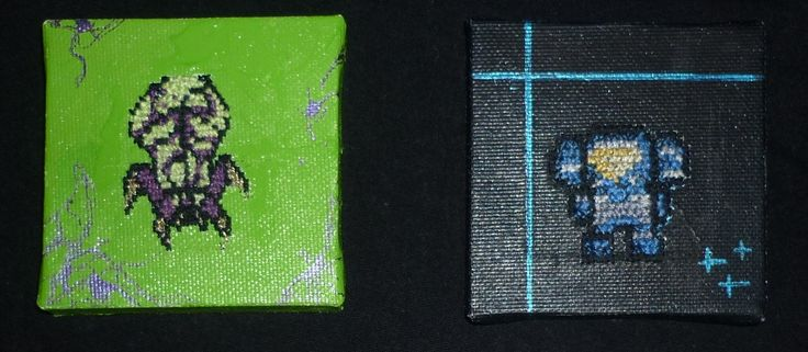 broderie au point de croix starcraft 2