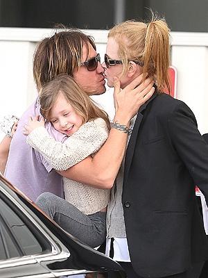 Keith Urban, Nicole Kidman, Russell Crowe
