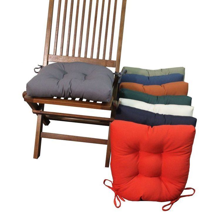 blazing needles u shape 16 x 16 in twill dining chair cushions set of 4 916x16us t 4ch tw ab. beautiful ideas. Home Design Ideas