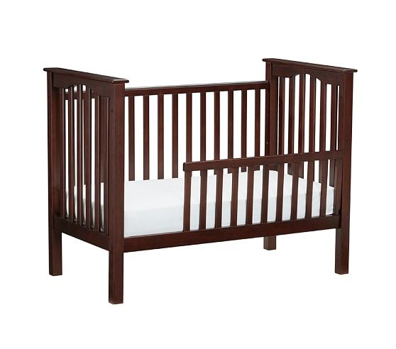 Sun Valley Espresso Conversion Kit for Kendall Low-Profile Crib | Pottery Barn Kids