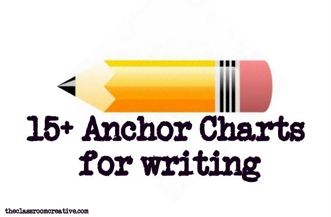writing anchor charts, writer's workshop anchor charts