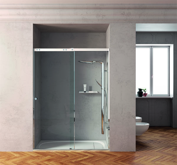 The shower tray designed by Carlo Colombo for #Outline features a brand new beguiling #design for #bathroom