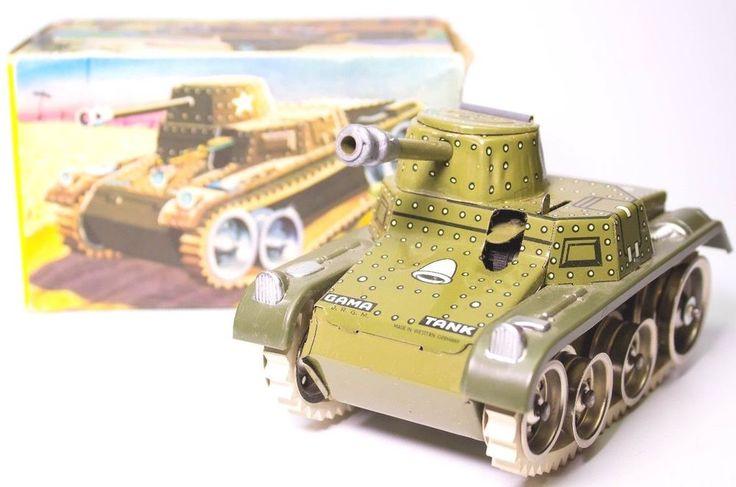 Western Bedroom Tank Toy Box Or: 52 Best Vintage Marx Clockwork Tin Tank Toys Images On
