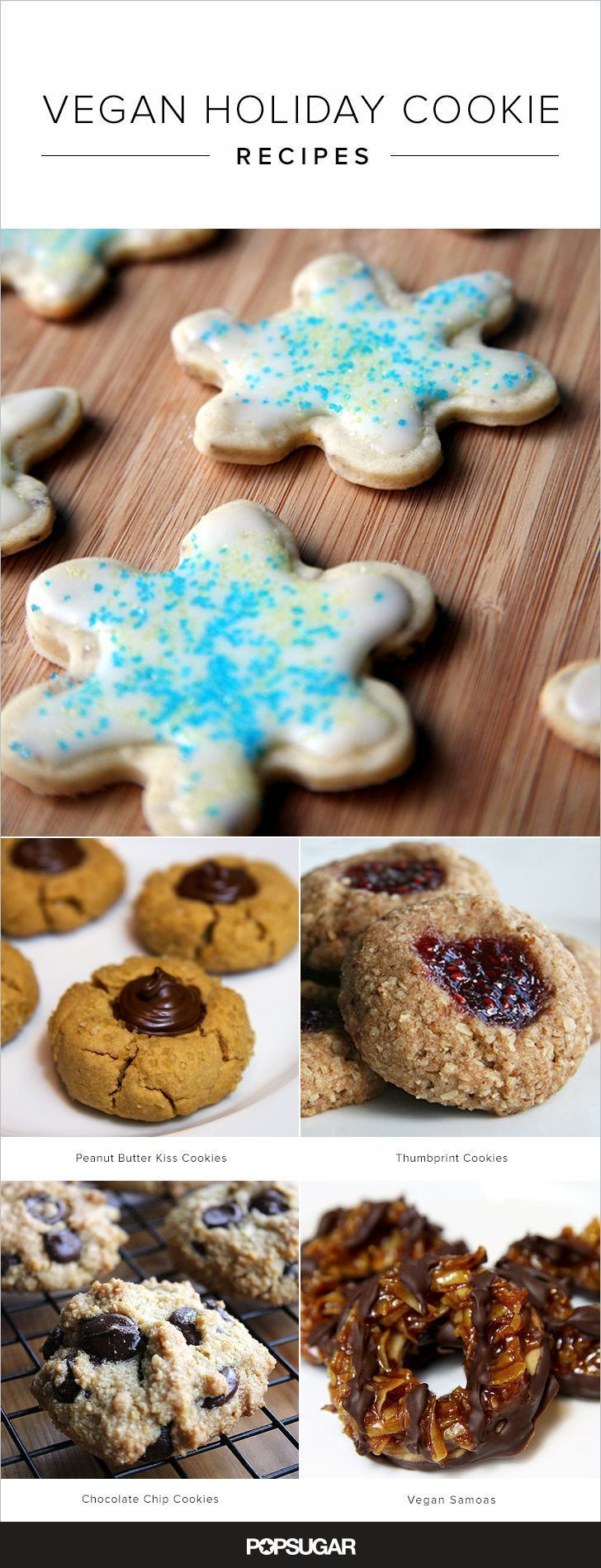 Take the holidays into your own hands and show up to any Christmukkuh party with a vegan plate of these cookies.