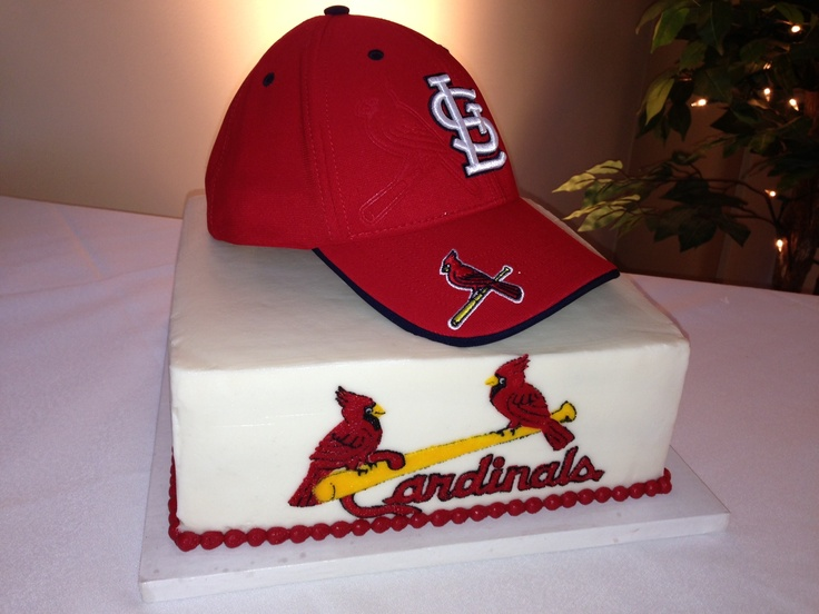 The Blue Owl Bakery. Cardinal Baseball Cake. Abbey