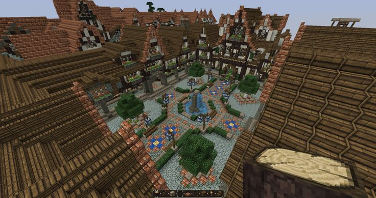 Minecraft Medieval City Download Lovely Medieval Square...
